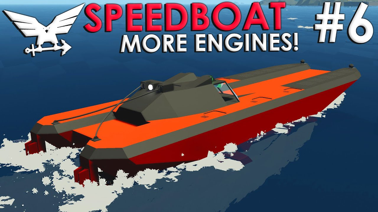 Frantic - Stable Sailing!  -  Speedboat Build  -  Part 6