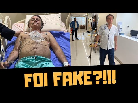 ABSURDO! A FACADA BOLSONARO FOI FAKE?!!!