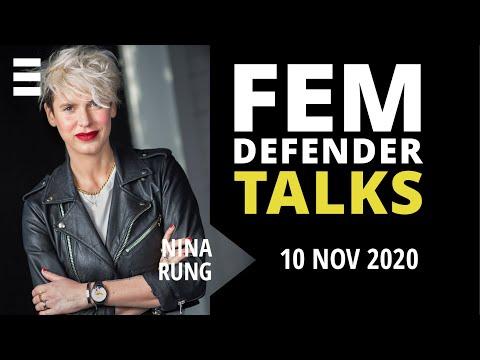 Femdefender Talk med Nina Rung | Kvinna till Kvinna