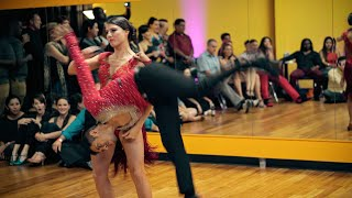 Luis Alberto & Jess Sheppard - Salsa Performance at Dancing4Fun - Maní Picao - Ricky Campanelli