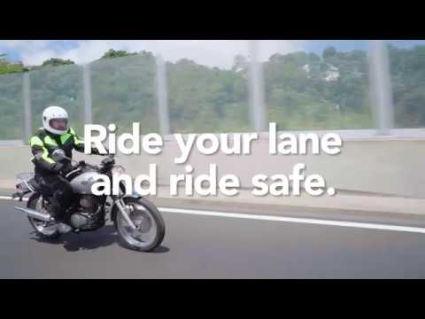 Motorcycles – What Lanes can you use?