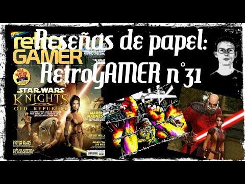 Reseñas de papel: RetroGAMER n°31 Edición Española