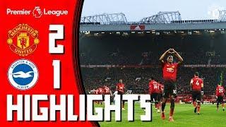 Highlights | Manchester United 2-1 Brighton | Pogba & Rashford seal the win | Premier League width=