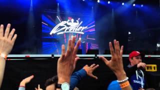 Rays of Light Broiler Live Midnattsrocken 2014