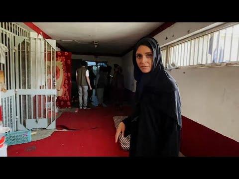 """Exkluzív: a rettegett kabuli Pul-e Charkhi börtönben készíthetett felvételeket az <span class=""""search-everything-highlight-color"""" style=""""background-color:orange"""">Euronews</span> stábj…"""