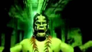 Umaga's old theme song and Titantron