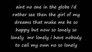 Akon Lonely Lyrics.wmv