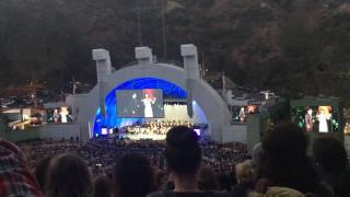 "Brad Kane and Susan Egan sing ""A Whole New World"" at Little Mermaid Live at the Hollywood Bowl"