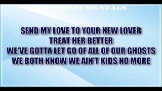 Adele - Send My Love (To Your New Lover) INSTRUMENTAL / KARAOKE + Lyrics