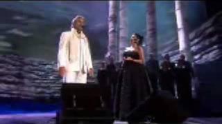 Andrea Bocelli and Anna Netrebko - Brindisi - live