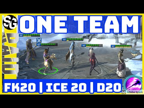 RAID SHADOW LEGENDS | ONE TEAM TO RULE THEM ALL! |NO LEGOS |NO VOIDS |D20 ICE20 FK20
