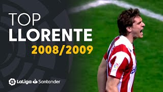 TOP Goles Fernando Llorente LaLiga Santander 2008/2009