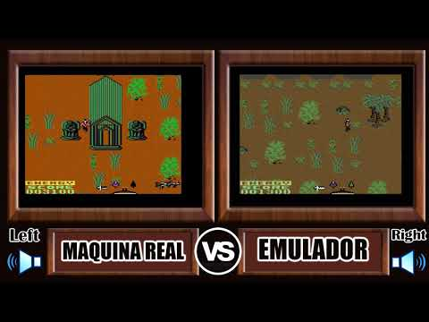 Maquina Real VS Emulador Juegos Commodore 64 #1