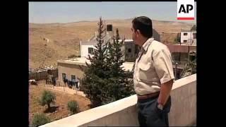 ISRAEL: LEBANON BORDER VILLAGE GHAJAR