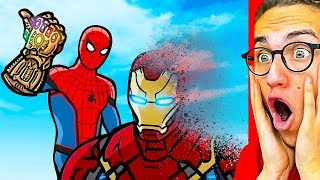 Reacting To THE BEST SUPERHERO ANIMATION! (Spiderman, Iron Man, Hulk, Avengers & more!)