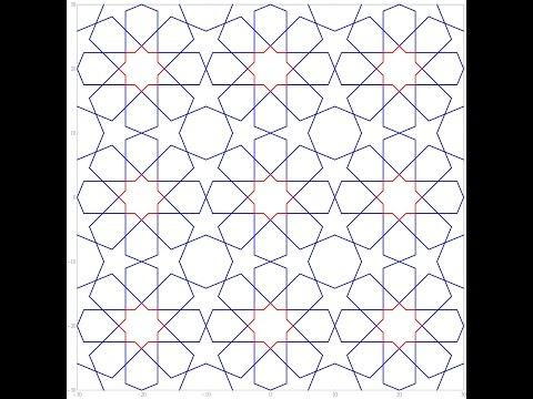 伊斯蘭的幾何拼貼 10B