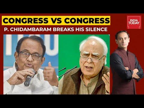 P. Chidambaram Breaks Silence Over Congress VS Congress Rift   Rajdeep Sardesai Shares His Thoughts