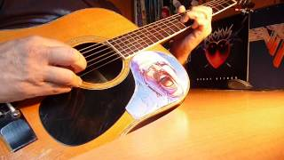 "TACABRO "" Tacata "" Cover On Acoustic Guitar with Chords /  Avec les Accords !!"