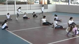 Educação física para crianças