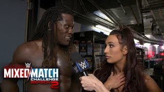 R-Truth & Carmella find the Fabulous Truth in their Mixed Match Challenge loss