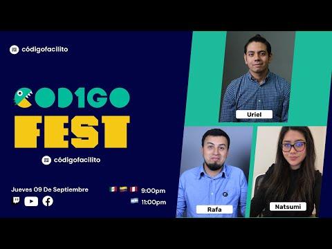 Central: Hablamos del CÓDIGO FEST, la conferencia de Código Facilito