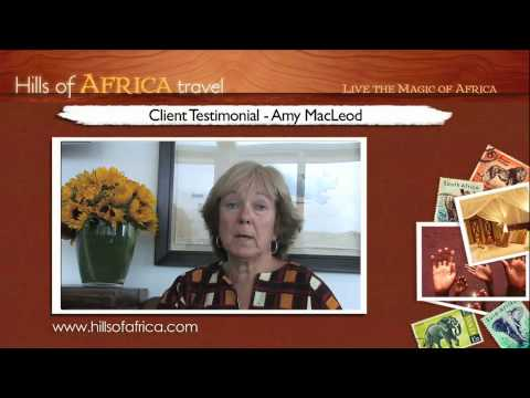 Soul Safari with Ainslie MacLeod: Testimonial by Amy MacLeod