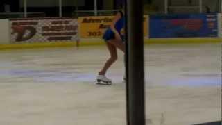 Oksana Fesz at figure skating exhibition-December 2011
