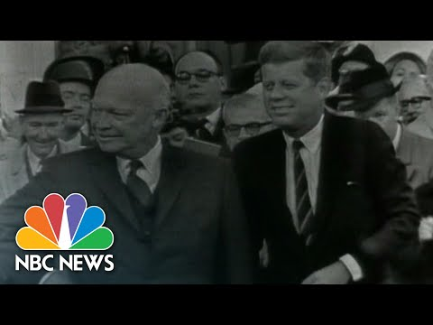Presidential Transition Meetings Through The Years | NBC News NOW