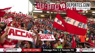 Sector Latino Chicago Fire 1-3 Toronto FC Toyota Park