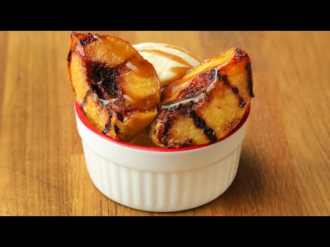 Grilled-Peach Sundaes in 15 Minutes or Less ? Tasty Recipes