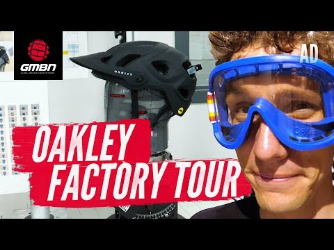 Oakley Factory Tour | Behind The Scenes Of Mountain Bike Product Development