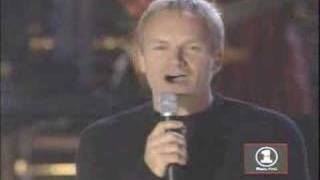 I want it that way - Backstreet Boys Ft. Sting (Live)