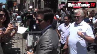 Mark Wahlberg arrives to Get a Star on the Hollywood Walk of Fame