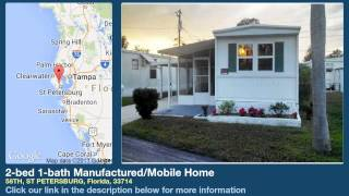 2-bed 1-bath Manufactured/Mobile Home for Sale in St Petersburg, Florida on florida-magic.com