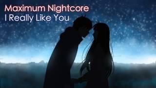 Nightcore - I Really Like You (Male Version)