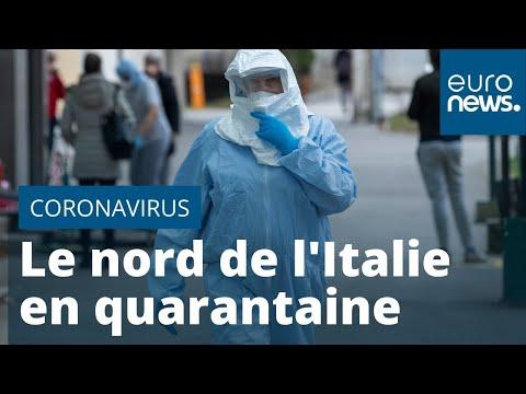Coronavirus/France : les personnes de retour du nord de l'Italie doivent rester chez elles 14 jours