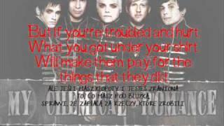 My Chemical Romance Teenagers (lyrics pl)