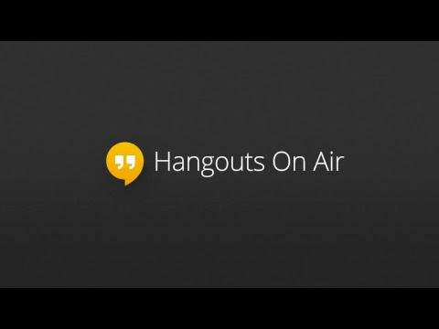 Live Q&A Hangout!