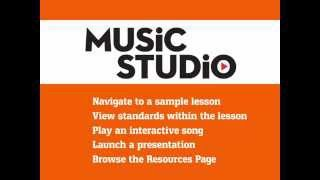 Music Studio: Tutorial, Navigating to a Lesson