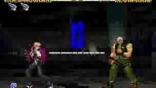 Garou MOTW good match: Rock vs Kevin