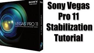 Sony Vegas Pro 11 Stabilization Tutorial