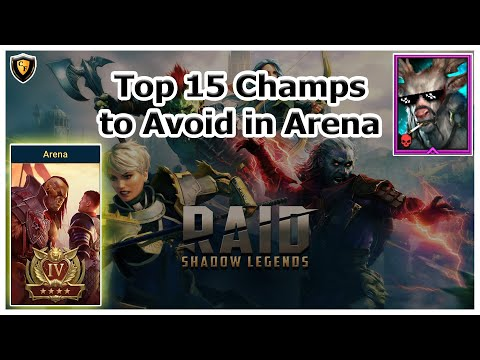 RAID Shadow Legends | Top 15 Champs to Avoid in Arena