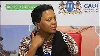 Gauteng, best province to live in... according to Premier Nomvula Mokonya