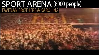 Garo Tavitjan amazing drum solo live with Karolina (Dafino vino - Boris Trajkovski 2010)