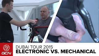Electronic Vs. Mechanical Groupsets | Dubai Tour 2015