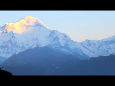 Sunrise in Nepal – Ghorepani
