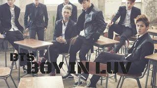 BTS - Boy in luv. Letra fácil (pronunciación)