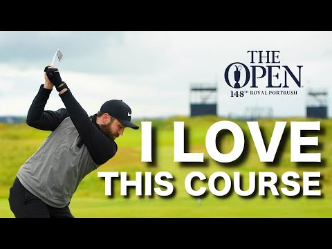 I play THE OPEN golf course - Royal Portrush