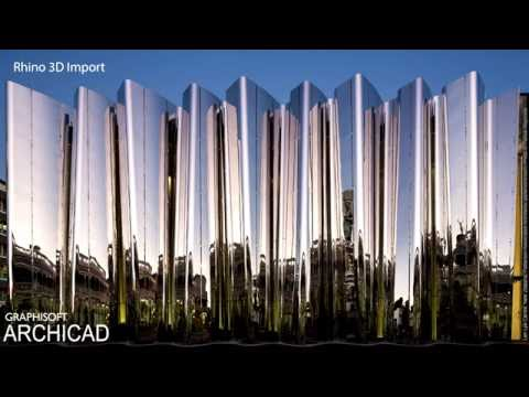ARCHICAD 20 - Rhino 3D Import