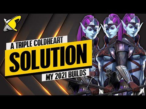 3 ENDGAME COLDHEARTS BUILD !! | Masteries & Guide | Best Budget Builds | RAID: Shadow Legends